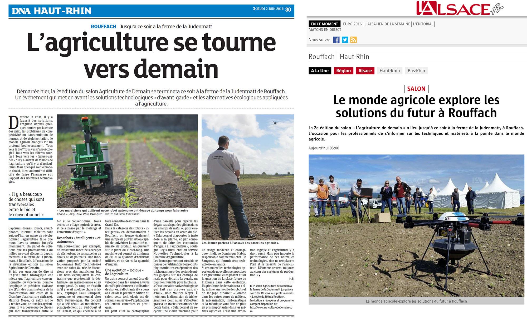 salon agricole DRONE ALSACE
